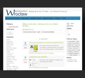 katalog stron www wroclaw