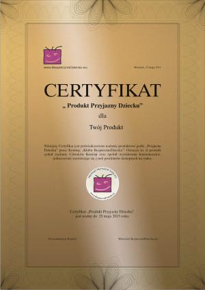 Certyfikat-BezpieczneDziecko